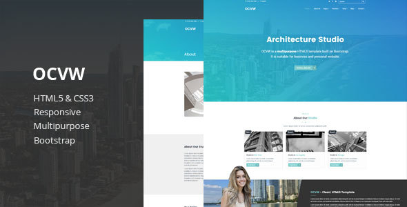 Ocvw – Multipurpose HTML5 Template