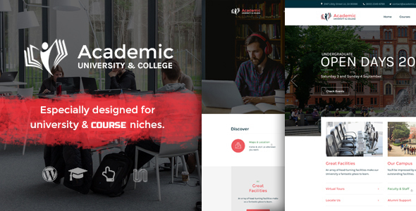 Academic – Education Theme For WordPress