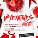 Valentines Night Flyer - GraphicRiver Item for Sale