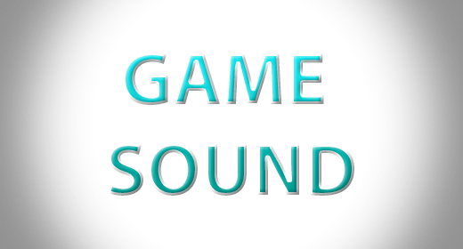 Game sound's