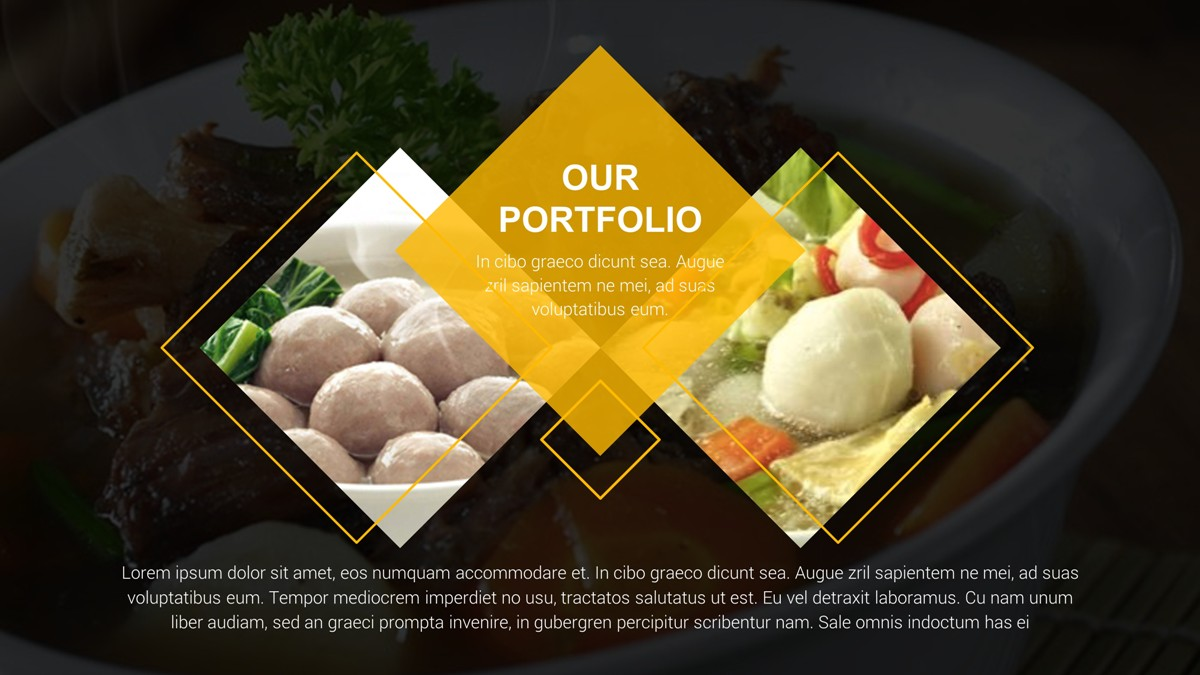 food presentation template koni polycode co