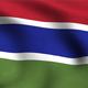 Gambia Flag Background - VideoHive Item for Sale