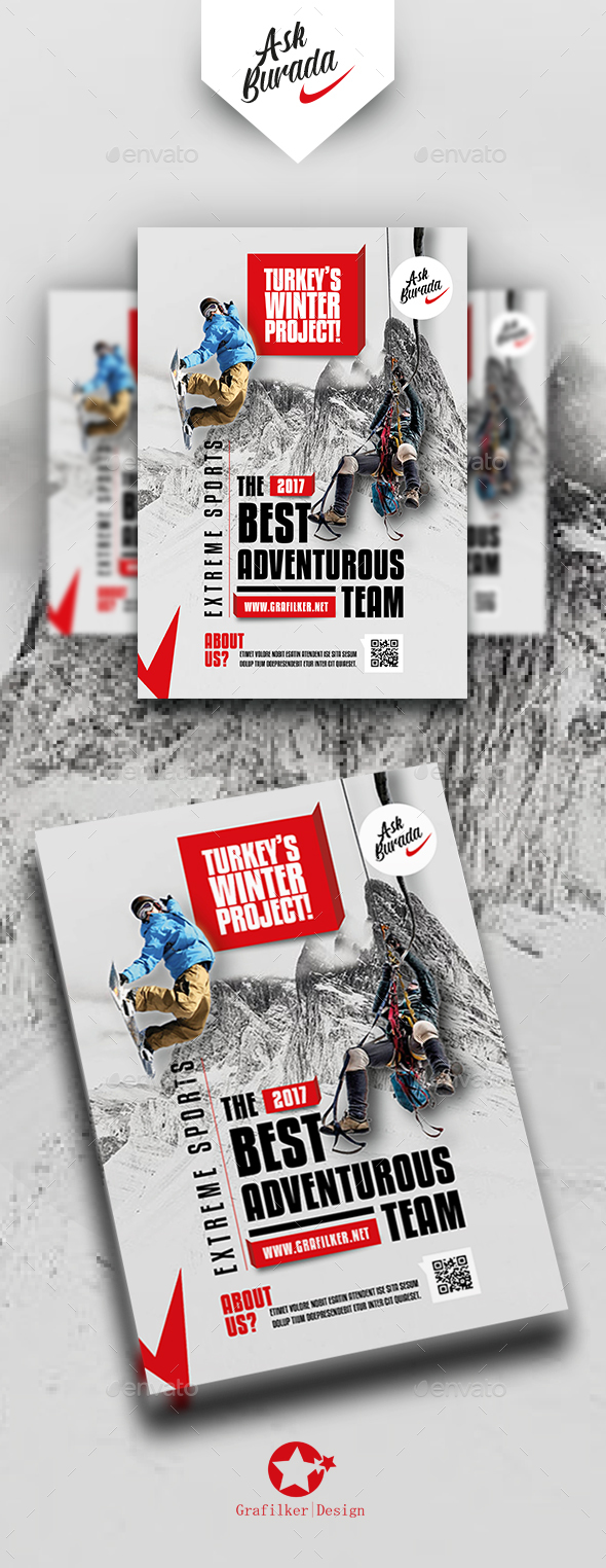 Adventure Flyer Templates - Events Flyers
