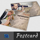 Wedding Photography Postcard Template - GraphicRiver Item for Sale