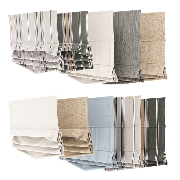Curtain collection 12 - 3DOcean Item for Sale