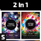 Trance Electro Party Flyer - GraphicRiver Item for Sale