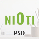 NIOTI - one page Multipurpose psd template Nulled
