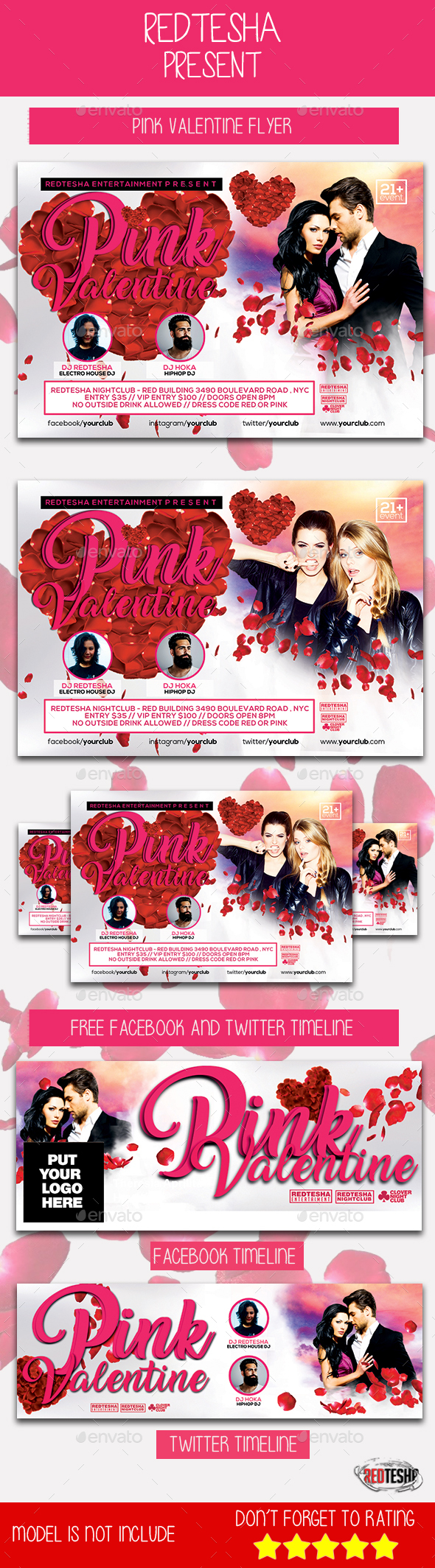 Pink Valentine - Clubs & Parties Events