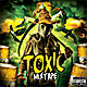 Toxic Fear CD Mixtape Cover Template - GraphicRiver Item for Sale