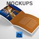 Photorealistic Square Brochure Mock-ups - GraphicRiver Item for Sale