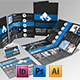 Brochure Pack A4+Trifold Leaflet+Business Card - GraphicRiver Item for Sale