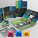 Brochures Pack Set A4 + Trifold + Business Card - GraphicRiver Item for Sale