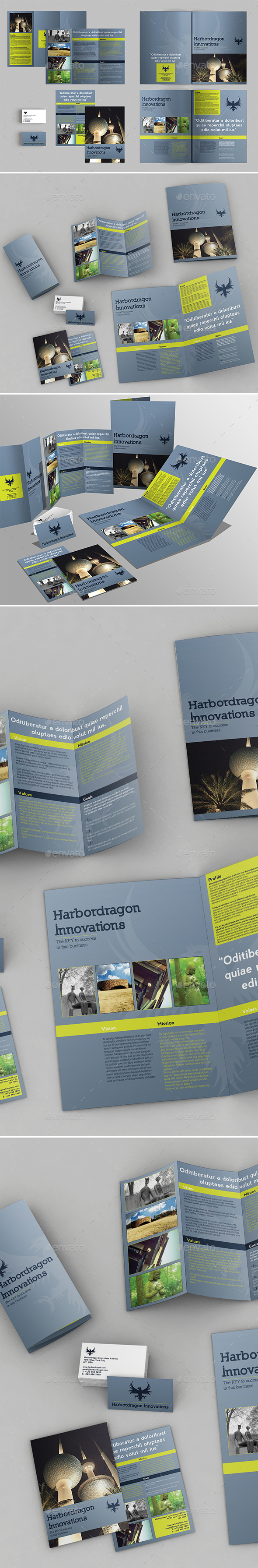 Corporate Pack Brochures - Corporate Brochures