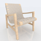 Modern Risom Chair - 3DOcean Item for Sale