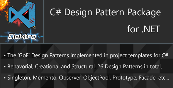 Design Patterns for C# - CodeCanyon Item for Sale