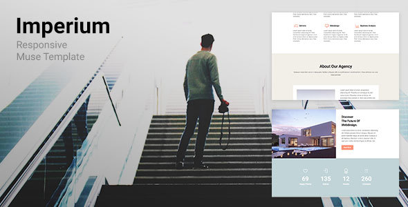 Imperium - Responsive Muse Template for Creative & Agency
