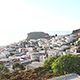 Panning Shot Of Lindos On Sunny Day - VideoHive Item for Sale