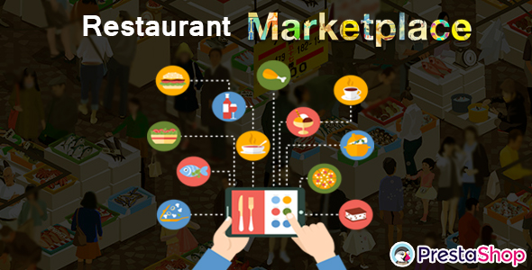 Prestashop Restaurant Marketplace - CodeCanyon Item for Sale