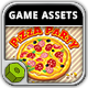 Pizza Party - Game Assets - GraphicRiver Item for Sale