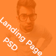 Landing Page / Portfolio PSD Template Nulled