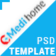 Medihome-Medical PSD Template - ThemeForest Item for Sale