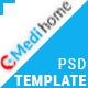 Medihome-Medical PSD Template - ThemeForest Item for Sale