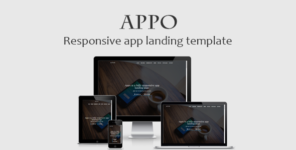 Appo Responsive app landing template