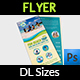 Tour and Travel DL Size Flyer Template - GraphicRiver Item for Sale