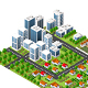 Modern 3D City - GraphicRiver Item for Sale