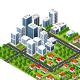 Modern 3D City - GraphicRiver Item for Sale