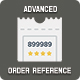 Advanced order reference
