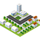 Megapolis 3d Isometric - GraphicRiver Item for Sale