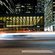 Urban Architecture Night Traffic Toronto - VideoHive Item for Sale