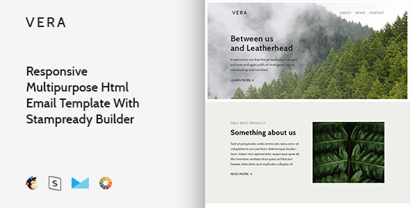 Vera – Responsive Multipurpose Email Template + Stampready Builder