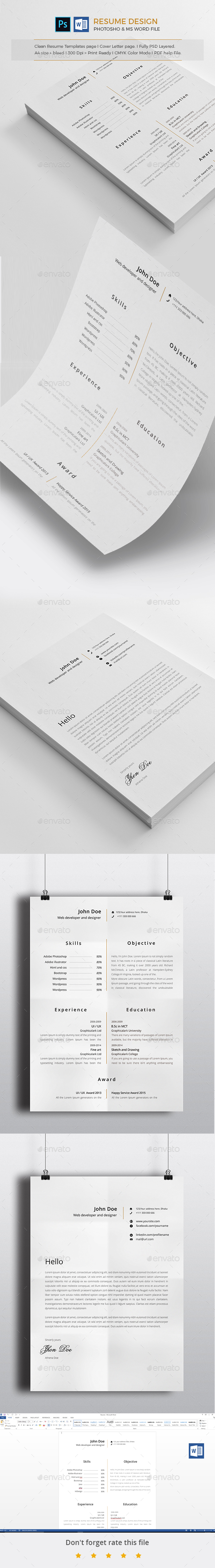 Resume design - Resumes Stationery