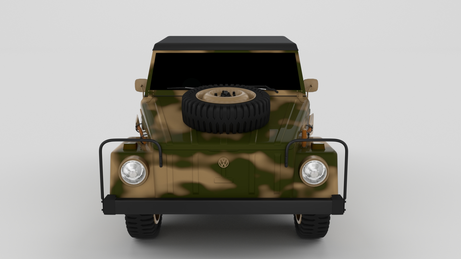 VW Type 181 Army