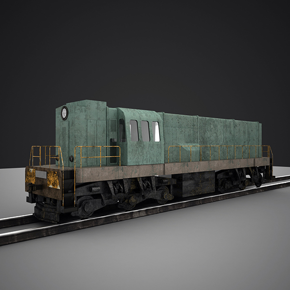 Train - 3DOcean Item for Sale