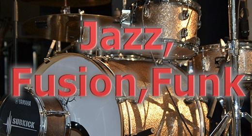 Jazz, Fusion, Funk