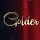 Golden Luxury Red Carpet Titles - VideoHive Item for Sale