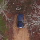 Vehicle Hidden and Waiting in Forest - VideoHive Item for Sale