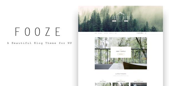 Fooze – A Responsive Blog Theme