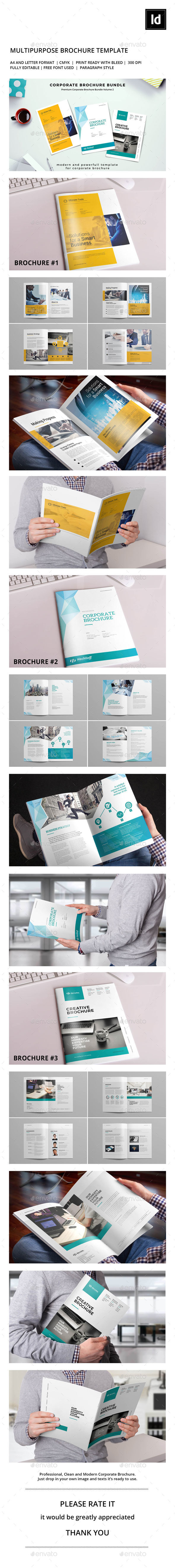 Corporate Brochure Bundle V.2 - Corporate Brochures