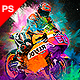 Color Festival Photoshop Action - Dust Effect - GraphicRiver Item for Sale