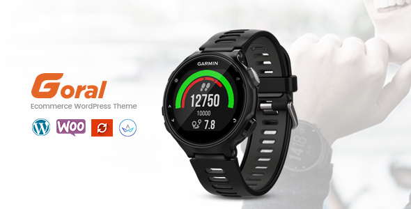 Goral SmartWatch - Single Product Woocommerce WordPress Theme