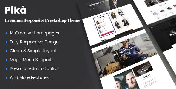 JMS Pika - A Premium Multi Concept Prestashop Theme