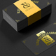 Black Business Cards Mock-up - GraphicRiver Item for Sale