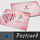Valentine Day  Postcard Template - GraphicRiver Item for Sale