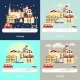 Types of Different Winter Weather - GraphicRiver Item for Sale
