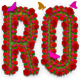 Rose Flowers Text Effect Photoshop Action - GraphicRiver Item for Sale