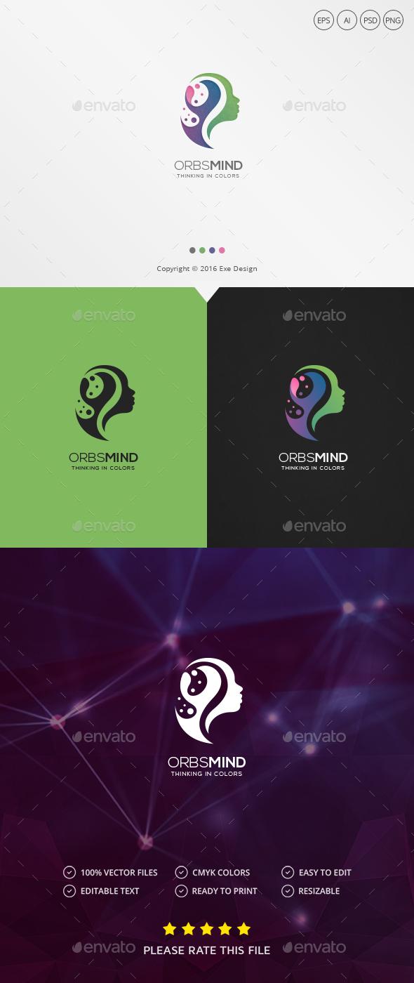Mind Logo - Humans Logo Templates